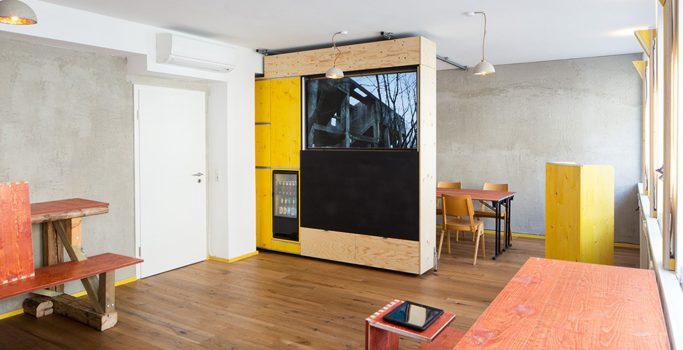 Hostel, die Wohngemeinschaft, Creative Space, Köln, Cologne, Theater, Cafe, Bar