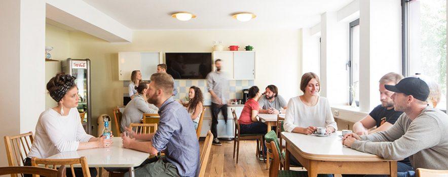 Hostel, die Wohngemeinschaft, Köln, Cologne, Creative Space, Cafe, Bar, Theater